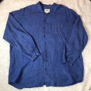 Flax Button Up Linen Shirt